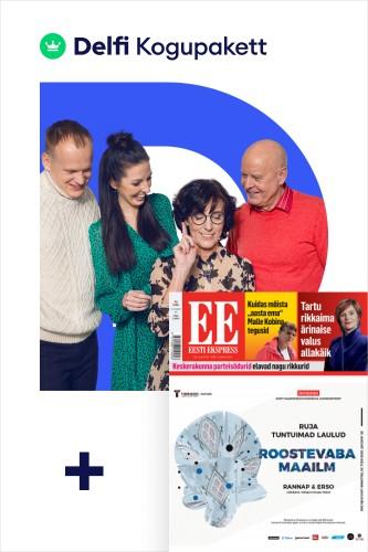 Delfi Kogupakett + Eesti Ekspress paberleht