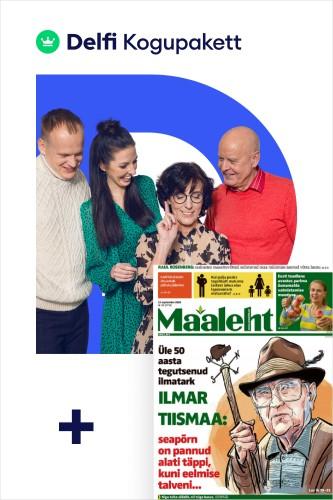 Delfi Kogupakett + Maaleht paberleht