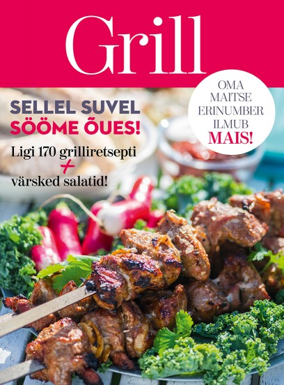 """Oma Maitse erinumber """"Grill"""""""